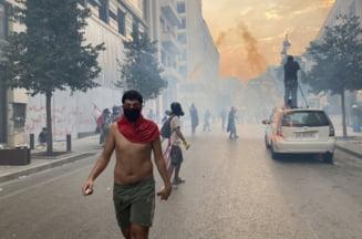 Liban: Manifestatii in apropiere de palatul prezidential. La 40 de zile dupa explozia din Beirut, niciun responsabil politic nu a fost arestat