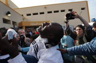 Libia, in pragul unei catastrofe umanitare, NATO nu stie daca Gaddafi e in viata
