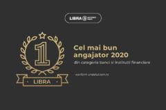 Libra Internet Bank este angajatorul numarul 1 din Romania la categoria banci si institutii financiare