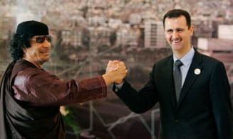Lichidarea lui Gaddafi, orchestrata de Franta si Bashar al-Assad?