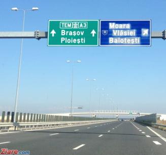 Licitatia pentru construirea autostrazii Ploiesti-Brasov in parteneriat public-privat incepe luni