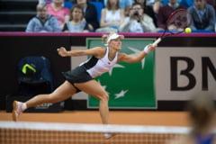 Lidera mondiala WTA, invinsa clar la ea acasa in FedCup, de o sportiva din Ucraina