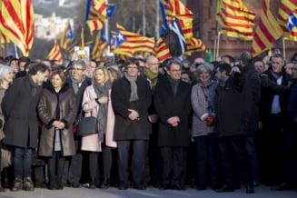 Liderii separatisti catalani au fost pusi oficial sub acuzare pentru rebeliune. Puigdemont ar fi fugit din tara