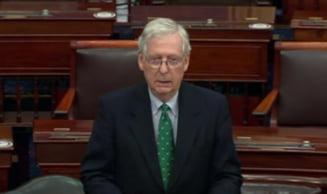 Liderul Majoritatii din Senat respinge cererea de a organiza procesul de punere sub acuzare a lui Trump inaintea inaugurarii noului mandat prezidential