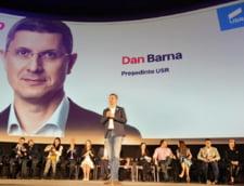 Liderul USR, Dan Barna, conduce comisia de negociere cu Dacian Ciolos pentru stabilirea candidatului unic la prezidentiale