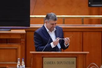 Liderul deputatilor PSD ii gaseste scuze lui Ciolacu ca si-a dat masca jos la tribuna Parlamentului: Nu se poate vorbi cu masca pe fata