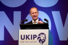 Liderul partidului eurofob britanic Ukip a fost demis, din cauza fostei iubite