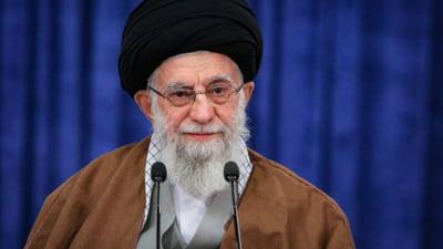 """Liderul suprem iranian, Ayatollahul Ali Khamenei, le cere palestinienilor sa isi dezvolte capacitatea de lupta pentru a opri """"brutalitatea"""" Israelului"""