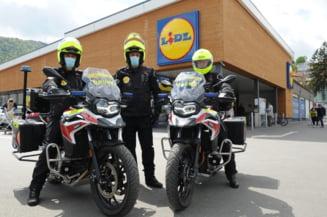 Lidl Romania si Fundatia pentru SMURD doteaza ISU Brasov cu motociclete de interventie