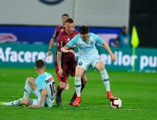 Liga 1: FCSB o invinge prea tarziu pe CFR Cluj, in ultimul meci al sezonului