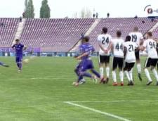 Liga 1: Poli Timisoara, victorie dramatica in fata lui FC Voluntari, dupa doua eliminari