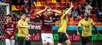 Liga 1: Rapidul pierde din nou, pe teren propriu