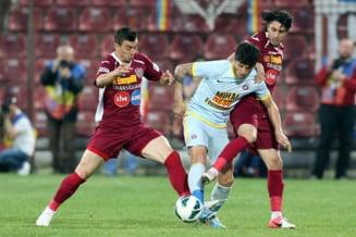 Liga 1: Steaua castiga pe terenul lui CFR Cluj