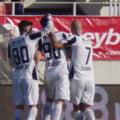 Liga 1, play-out: Astra Giurgiu a ajuns la 10 meciuri la rand fara infrangere. Hermannstadt ramane ultima in clasament
