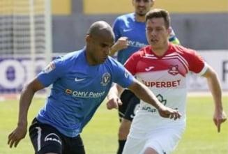 Liga 1, play-out: frica de retrogradare le-a facut sa uite fotbalul. Cum s-a incheiat meciul Viitorului cu Hermannstadt