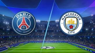 Liga Campionilor: Asta-seara, socul PSG - Manchester City