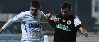 """Liga I: Pandurii trec in forta de """"U"""" Cluj"""