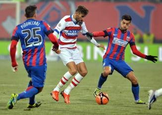 Liga I: Steaua, doar egal cu Otelul