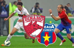 Liga I: Steaua invinge Dinamo in Marele Derbi