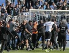 Liga de fotbal din Franta ia in calcul excluderea din campionat a lui Bastia dupa incidentele grave de duminica