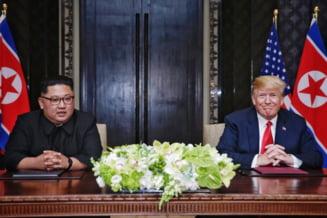 Limbajul corpului: Ce au transmis fara sa vrea Trump si Kim Jong Un la intalnirea istorica
