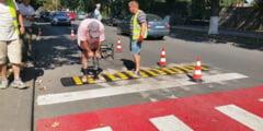 Limitatoare de viteza, montate in mai multe zone din Hunedoara