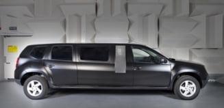 Limuzina Dacia Duster Bureu Mobil, concept creat de studenti romani (Galerie foto)