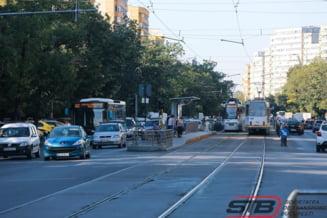 Linia de tramvai 41 va fi suspendata, incepand de miercuri, pentru cinci zile. STB introduce linie naveta de autobuze