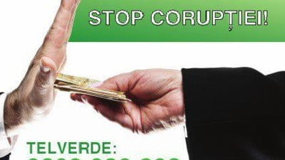 Linia verde anticoruptie: Peste 12.000 de cetateni au sunat, iar unii chiar au ajutat la prinderea unor corupti