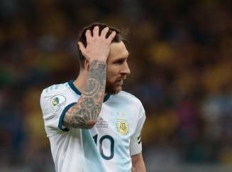 Lionel Messi, suspendat pentru trei luni!