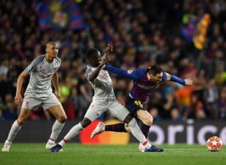 Lionel Messi a facut-o KO pe Liverpool in prima mansa semifinalei din Liga Campionilor