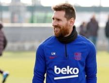 Lionel Messi s-a accidentat