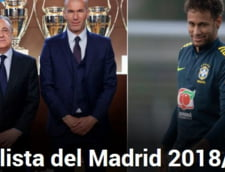 Lista impresionanta de transferuri a lui Real Madrid