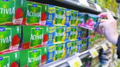 Lista produselor Danone retrase de pe piata