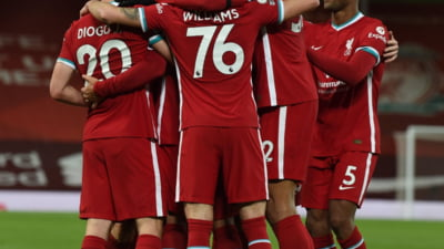 Liverpool, victorie in derby-ul cu Leicester