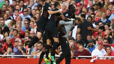Liverpool a invins Arsenal dupa un meci de poveste, in primul derbi al sezonului din Anglia (Video)