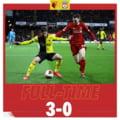 Liverpool a suferit primul esec in acest sezon de Premier League, unul usturator cu Watford