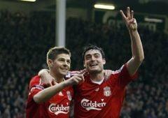 Liverpool a umilit Aston Villa si s-a apropiat la 1 punct de Manchester (Video)