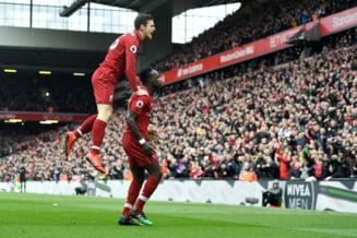 Liverpool invinge in marele derbi Chelsea Londra si revine in fotoliul de lider in Premier League
