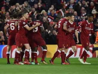 Liverpool invinge la scor Roma si face un pas mare spre finala Champions League