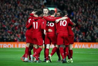 Liverpool isi continua seria de invincibilitate in Anglia si a mai bifat doua recorduri majore in Premier League (Video)