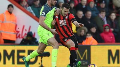 Liverpool pierde in Premier League dupa un adevarat thriller la Bournemouth. In minutul 76, scorul era 3-1 (Video)