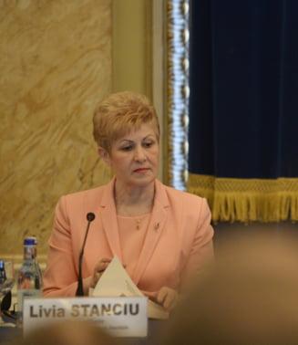 Livia Stanciu nu e de acord cu colegii din CCR, care i-au lasat o portita lui Dragnea sa ajunga in Guvern: Reabilitarea nu sterge condamnarea