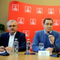Liviu Dragnea l-a vizitat pe premierul Ponta la spitalul din Istanbul