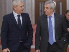 Liviu Dragnea si Calin Popescu Tariceanu, discutii ordonanta de amnistie