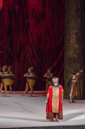 Ljubica Vranes, invitata speciala in spectacolul Nabucco de pe scena Operei Nationale Bucuresti