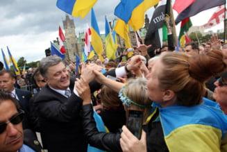 Lobby la Casa Alba: Presedintele Ucrainei, primit de Obama