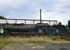 Locomotiva de epoca a fost adusa de la Buzau