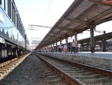 Locomotiva trenului de Viena a luat foc. Al doilea incendiu la un tren, in Cluj