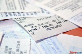 Loteria bonurilor fiscale: Vezi daca ai bonul castigator pentru aprilie